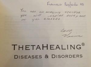 Theta Healing, Betegségek és rendellenességek