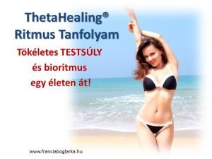 testsúly, theta Healing, Theta Healing Ritmus