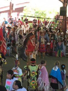 indiánok együtt